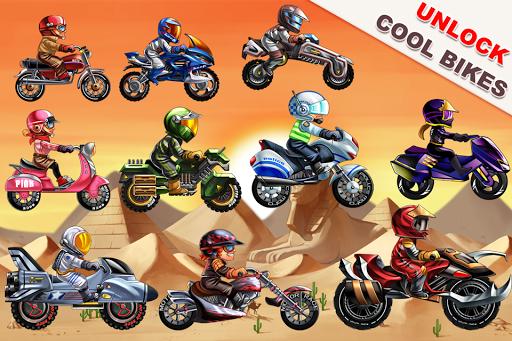 Mad Moto Racing: スタントバイク