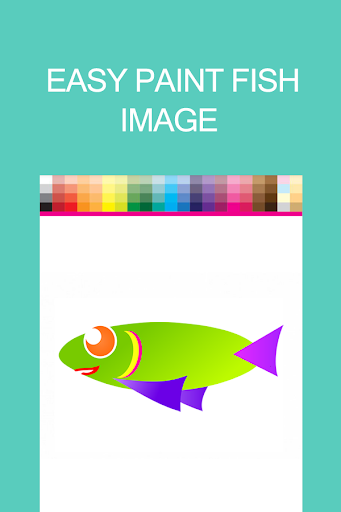 Fish Coloring Book for Toddler