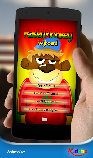 Cool Rasta Monkey