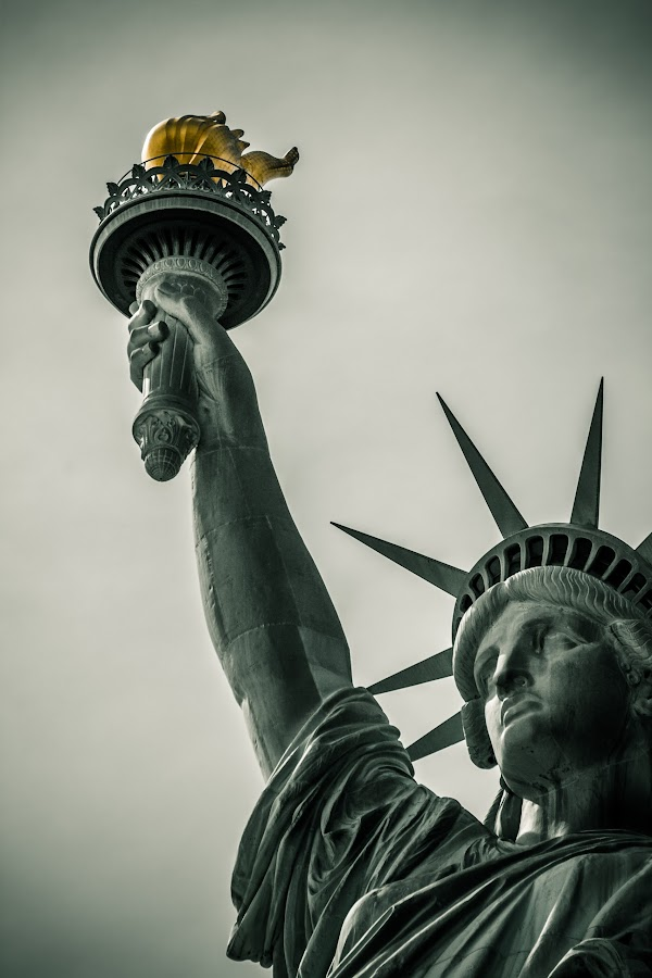Lady Liberty by Rob Parker - Buildings & Architecture Statues & Monuments (  )