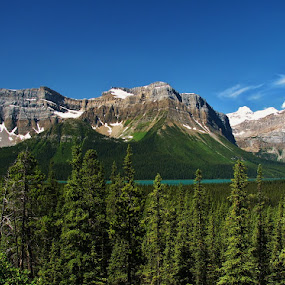 banff national park lake by Ryan Chornick - Landscapes Mountains & Hills (  )