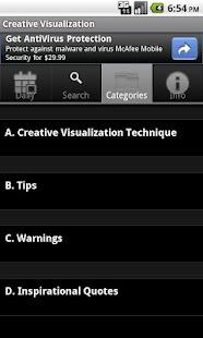 Creative Visualization- screenshot thumbnail
