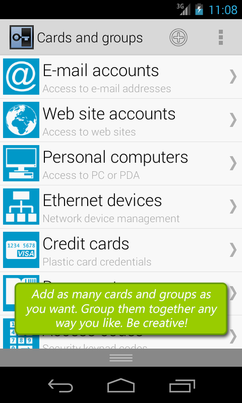 Secure Vault, Password Manager- screenshot