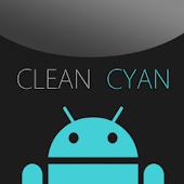 GO SMS Clean Cyan Theme