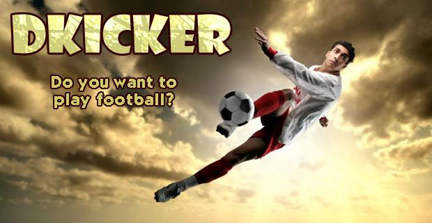 Dkicker Football Game- screenshot