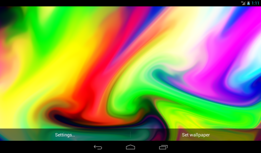 Color mixer live wallpaper android apps on google play for Decor live beautiful app