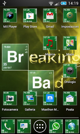 玩免費個人化APP|下載Breaking Bad Holo - Theme icon app不用錢|硬是要APP