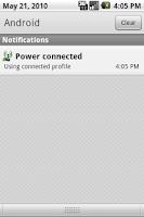 Screenshot of WiFi Power Profile Trial