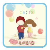ZLOTUS LOVE GO LOCKER THEME