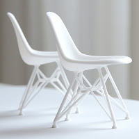 Eames Shell Side Chair DSR Scale 1/12