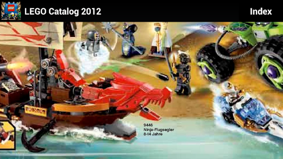 Lego Catalog 2012 玩書籍App免費 玩APPs