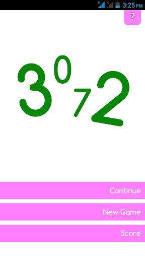 3072 Number Puzzle Game