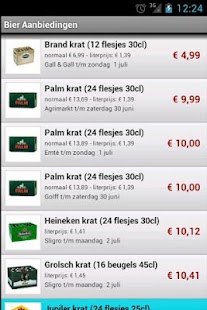 Bier Aanbieding- screenshot thumbnail