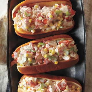 Lobster Rolls With Corn and Celery