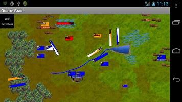 Screenshot of Napoleonics: Quatre Bras