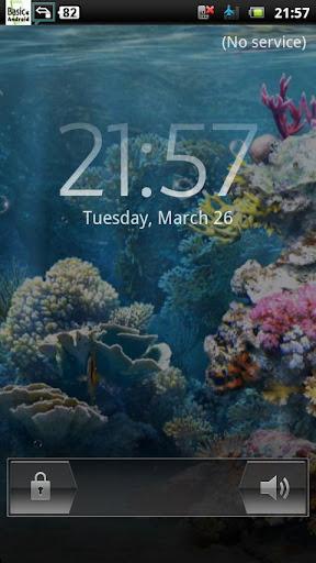 水中サンゴ礁 LWP