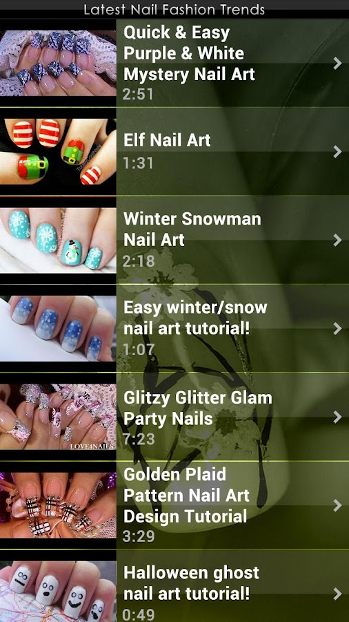 Latest Nail Fashion Trends - screenshot