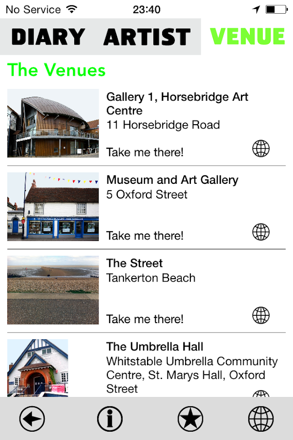 Whitstable Biennale 2014- screenshot