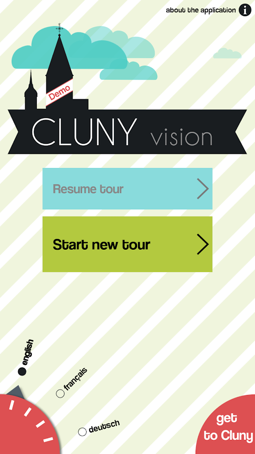 Cluny Vision Demo - screenshot