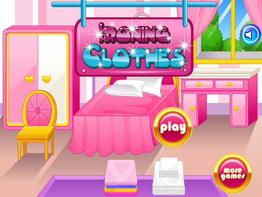 熨烫衣服的女孩游戏