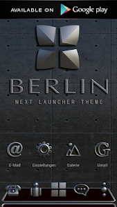 Poweramp skin Berlin v2.02