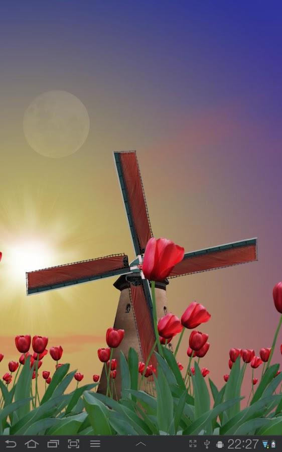 Tulip Windmill Free- screenshot