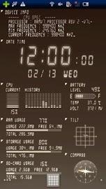Device Info Ex Live Wallpaper Screenshot 5