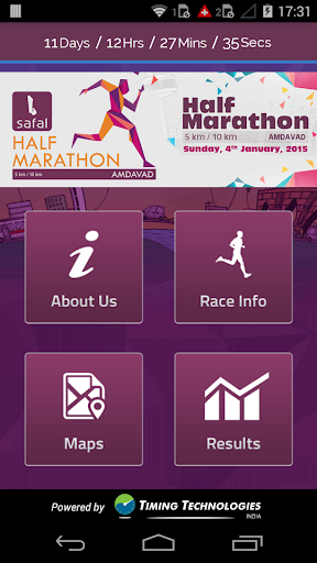 b Safal Half Marathon