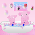 Bubbles Bath Pepe Pig icon