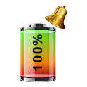 Battery 100% Alarm icon