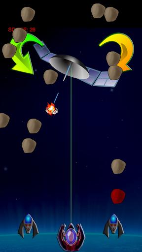 LASER SHIELD asteroids defense
