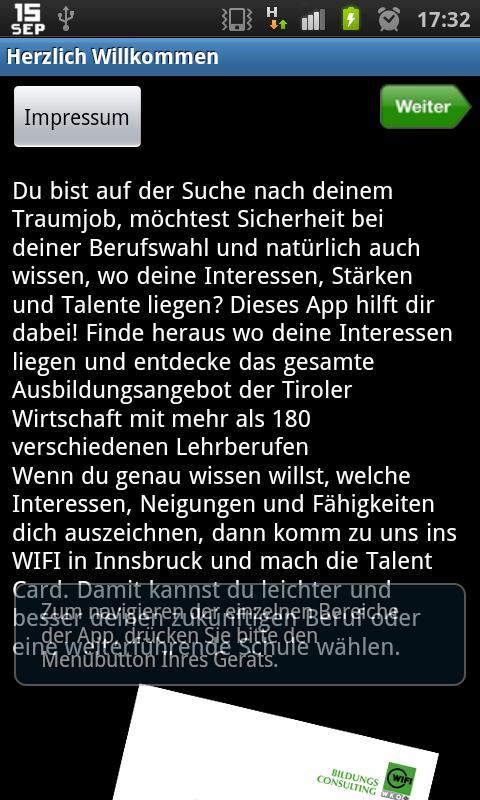 Berufs-Safari- screenshot