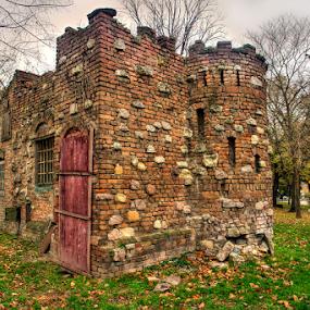Kalemegdan by Branislav Rupar - Buildings & Architecture Public & Historical ( bunker, hdr, serbia, belgrade, kalemegdan, house )