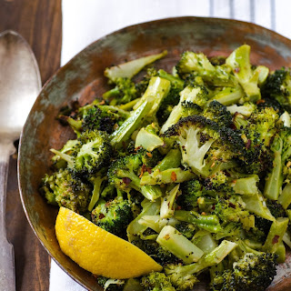 Garlicky Roasted Broccoli.