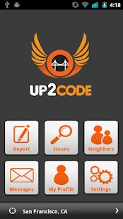 UP2CODE - screenshot thumbnail
