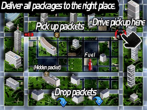 Red pickup - Free