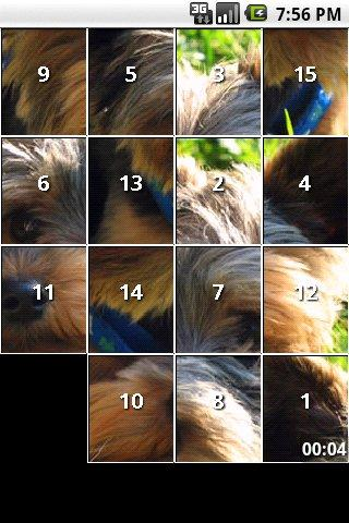 Yorkie Slide Puzzle iSlider - screenshot