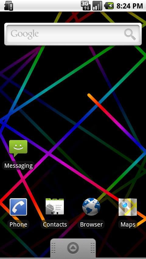 Rainbow Live Wallpaper - screenshot