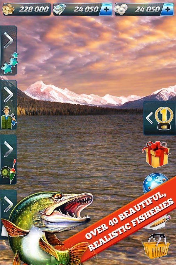 Let 39 s fish sport fishing game android apps on google play for Fishing tournament app