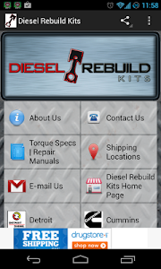 Truckers Diesel Parts Finder screenshot 0