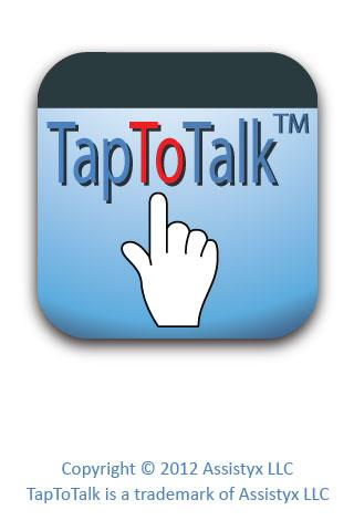 TapToTalk - screenshot