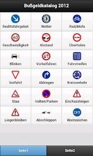 Bußgeldrechner + Katalog 2012