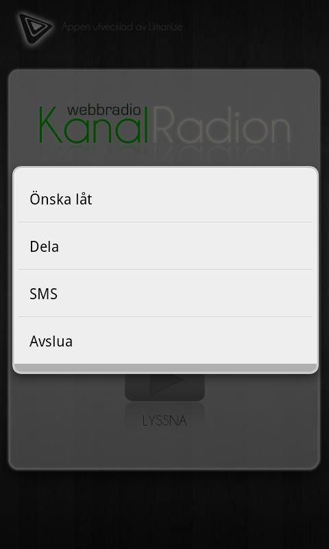 Kanalradion- screenshot