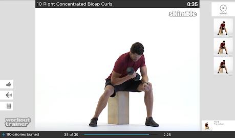Workout Trainer Screenshot 3