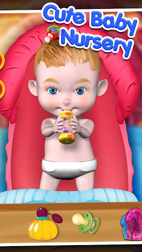 婴儿护理托儿所 - 儿童游戏