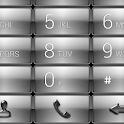 Dialer Gloss Chrome Theme icon