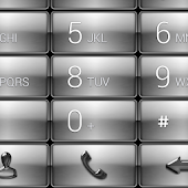 Dialer Gloss Chrome Theme