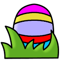 Catch the Easter Eggs logo