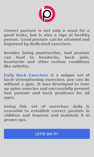 Daily Back Excercises