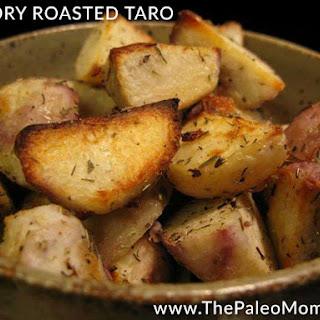 Savory Roasted Taro.
